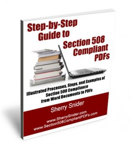 Buy the Book Section 508 Compliant PDFs